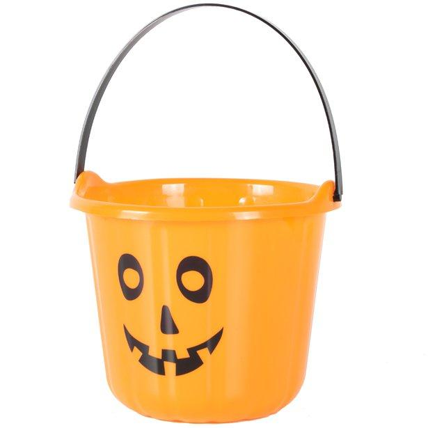 Halloween personalised bucket - Don't take it personal