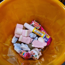 Load image into Gallery viewer, Halloween personalised bucket with sweets - Don't take it personal