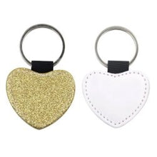 Load image into Gallery viewer, Heart picture and glitter keyring - Don't take it personal