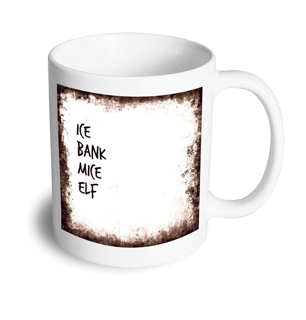 Ice bank mice elf mug - Don't take it personal