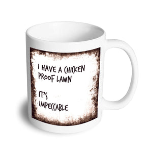 Impeccable mug - Don't take it personal