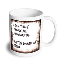 Load image into Gallery viewer, Judgemental mug - Don't take it personal