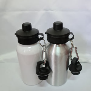 Keep it retro Aluminium 400ml Water bottle - Don't take it personal