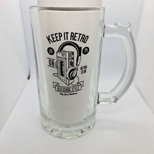 Load image into Gallery viewer, Keep it retro Beer Glass - Don't take it personal