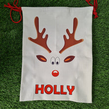 Load image into Gallery viewer, Large personalised Santa sack - Don't take it personal