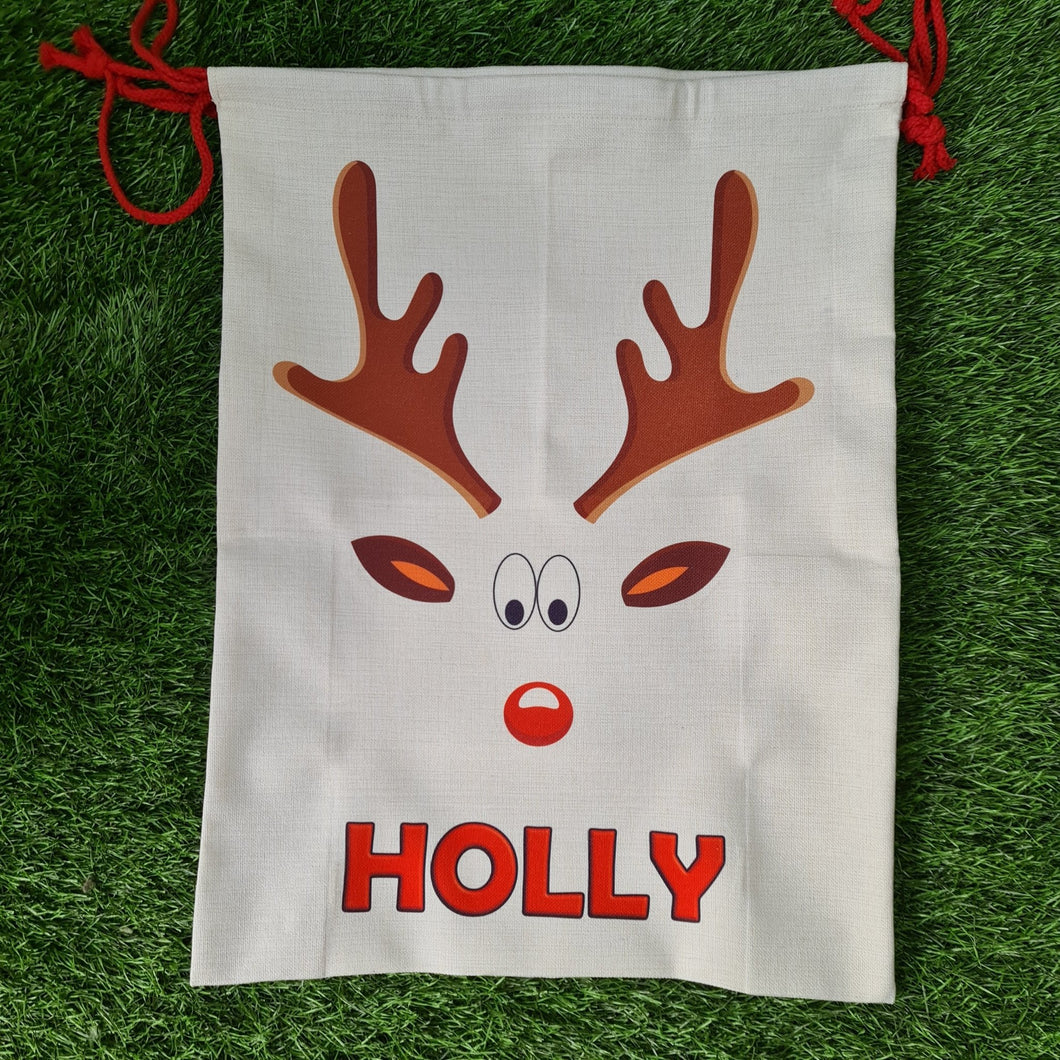 Large personalised Santa sack - Don't take it personal
