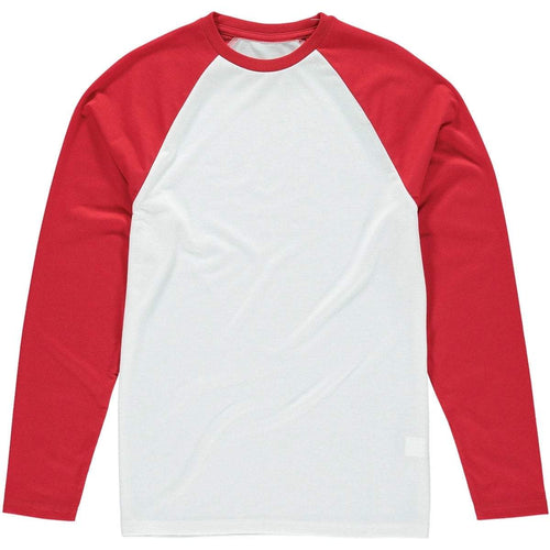 Long sleeve Baseball Tee Red - custom create your own - Don't take it personal