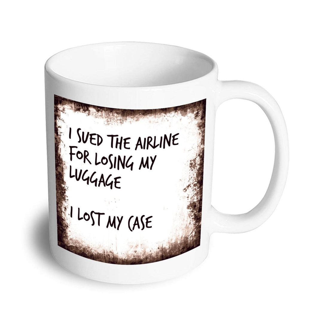 Lost case mug - Don't take it personal