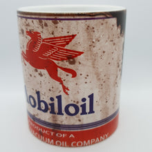 Load image into Gallery viewer, Mobil oil can mug - Don't take it personal