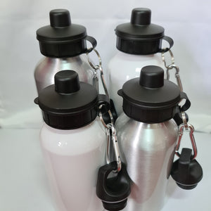 Number One Aluminium 600ml Water bottle - Don't take it personal