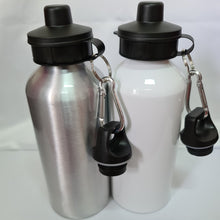 Load image into Gallery viewer, Old School Aluminium 600ml Water bottle - Don't take it personal