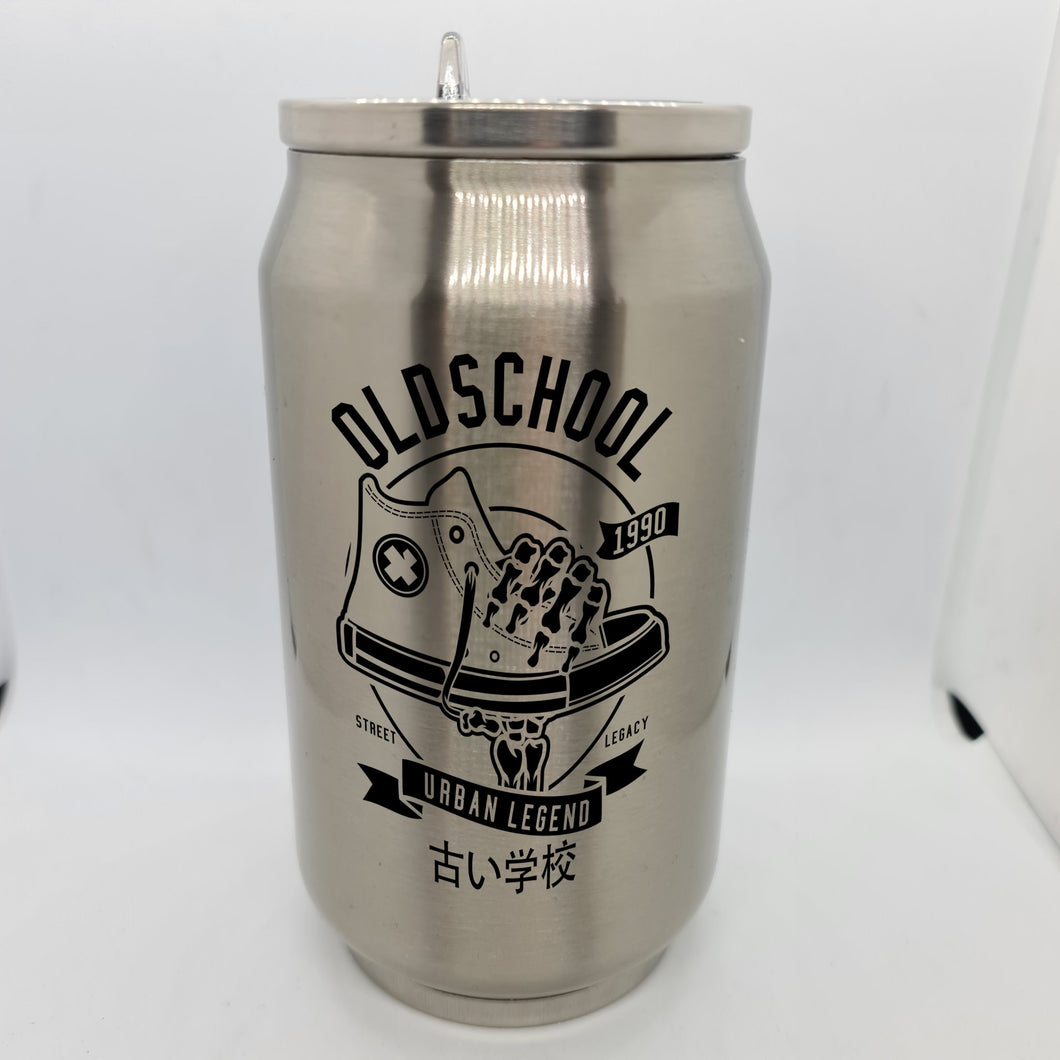 Old School Double Wall Stainless Steel Can - Don't take it personal