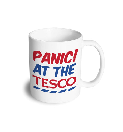 Panic at the Tesco mug - Don't take it personal