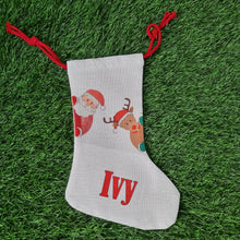 Load image into Gallery viewer, Personalised Christmas stocking - Don't take it personal
