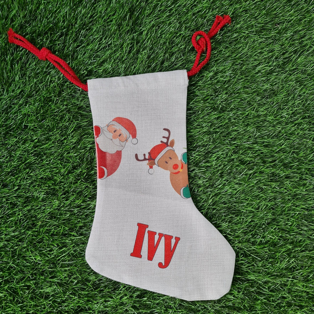 Personalised Christmas stocking - Don't take it personal