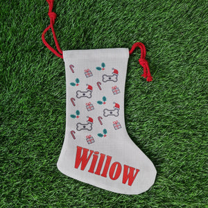 Personalised Doggy Christmas stocking - Don't take it personal