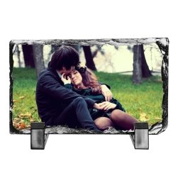 Personalised Photo slate 15cm x 20cm - Don't take it personal