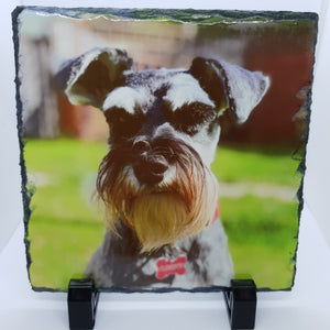 Personalised Photo slate 20cm x 20cm - Don't take it personal