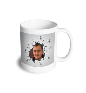 Personalised photo smash mug - Don't take it personal