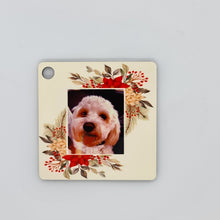 Load image into Gallery viewer, Personalised Wooden ornament - Square - Don't take it personal