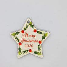 Load image into Gallery viewer, Personalised Wooden ornament - Star - Don't take it personal