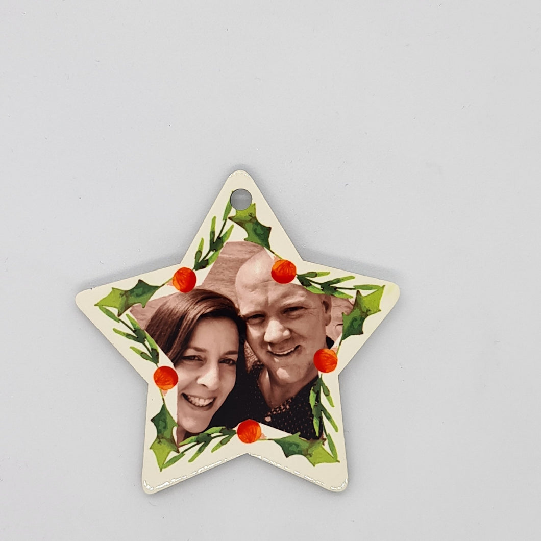 Personalised Wooden ornament - Star - Don't take it personal