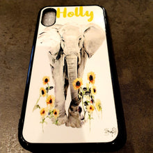 Load image into Gallery viewer, Phone case personalised - White rubber - Don't take it personal