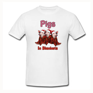 Pigs in Blankets T-Shirt - Don't take it personal