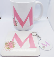 Load image into Gallery viewer, Pink floral Monogram Gift set - Don't take it personal
