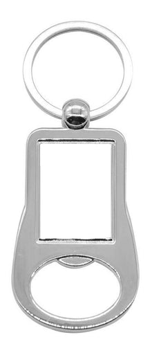 Rectangle bottle opener keyring - Don't take it personal
