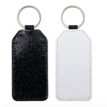 Load image into Gallery viewer, Rectangle picture and glitter keyring - Don't take it personal