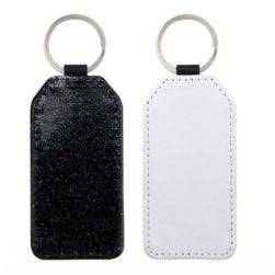 Rectangle picture and glitter keyring - Don't take it personal