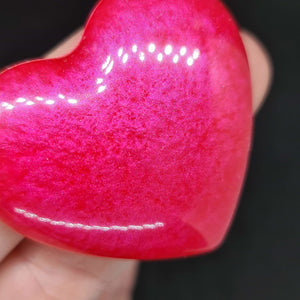 Resin heart keyring - Don't take it personal