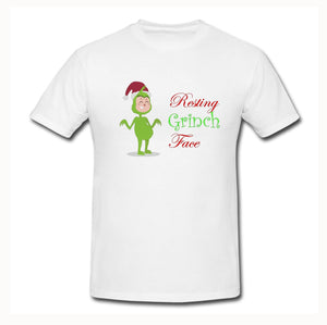 Resting Grinch Face T-Shirt - Don't take it personal