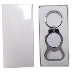 Round bottle opener keyring - Don't take it personal