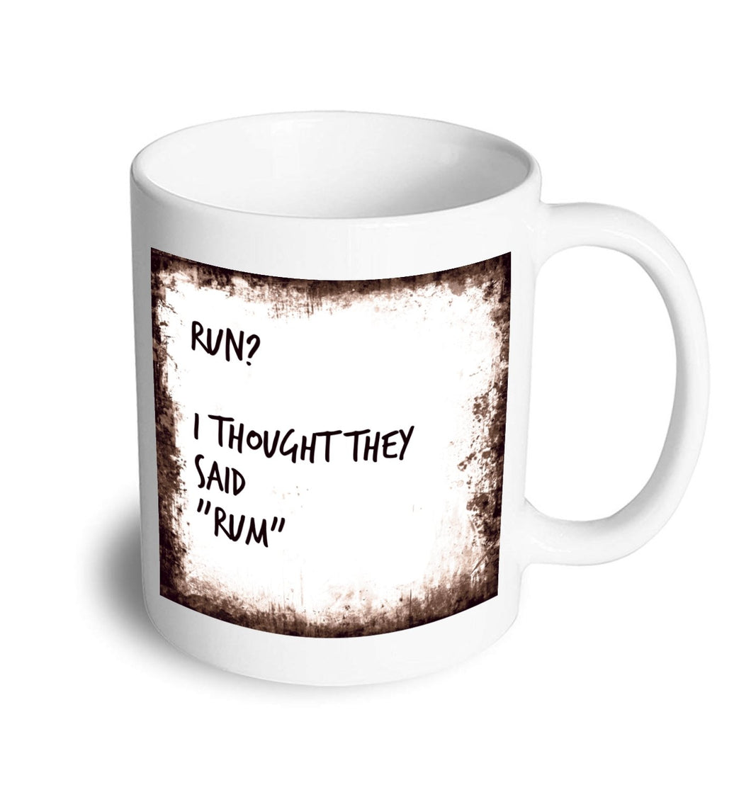 Rum mug - Don't take it personal