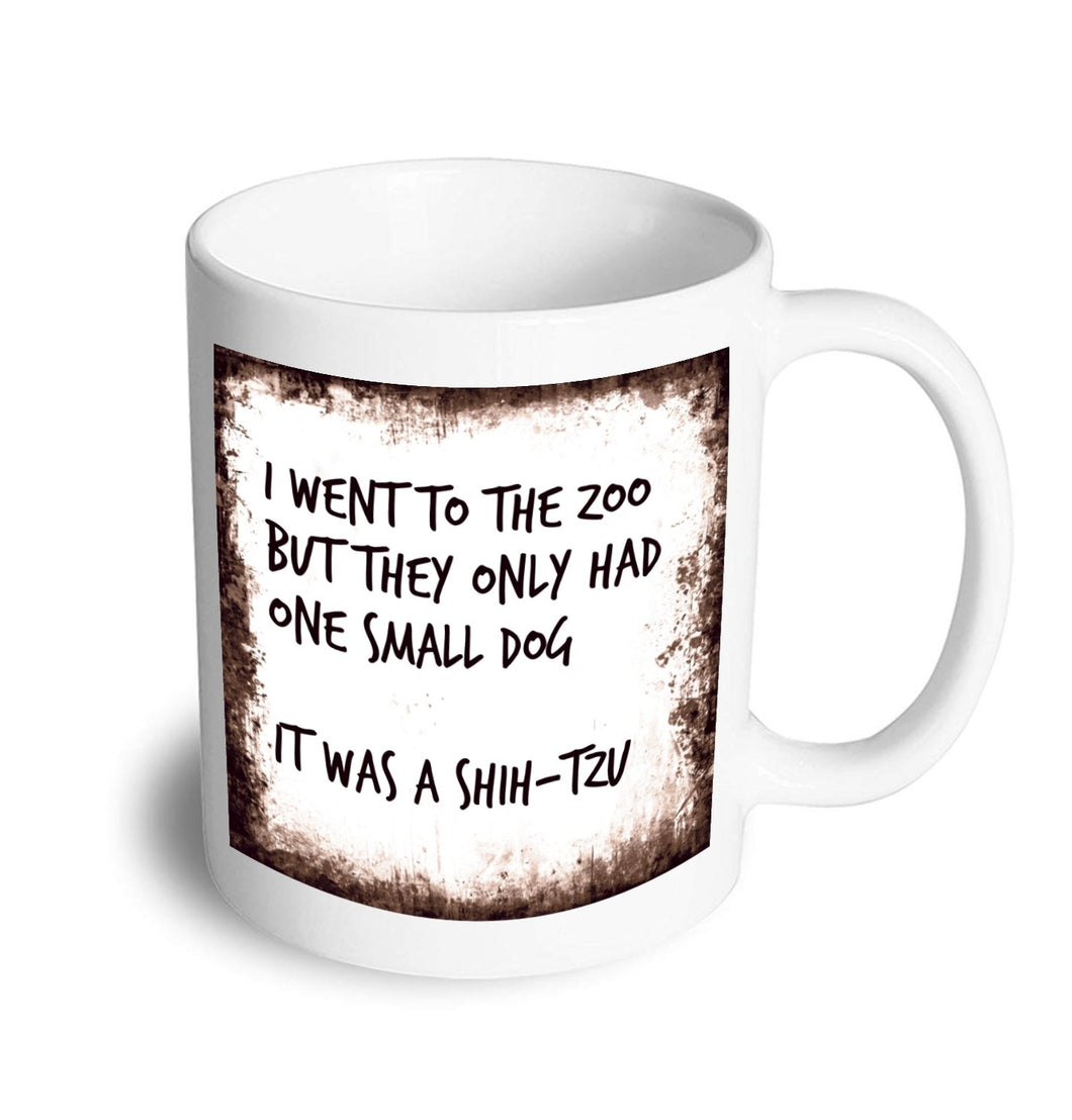 Shihtzu mug - Don't take it personal