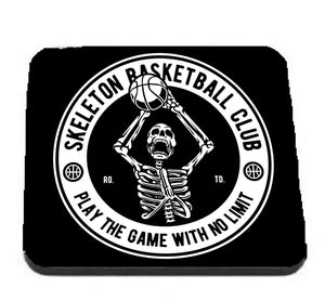 Skeleton Basketball coaster - Don't take it personal