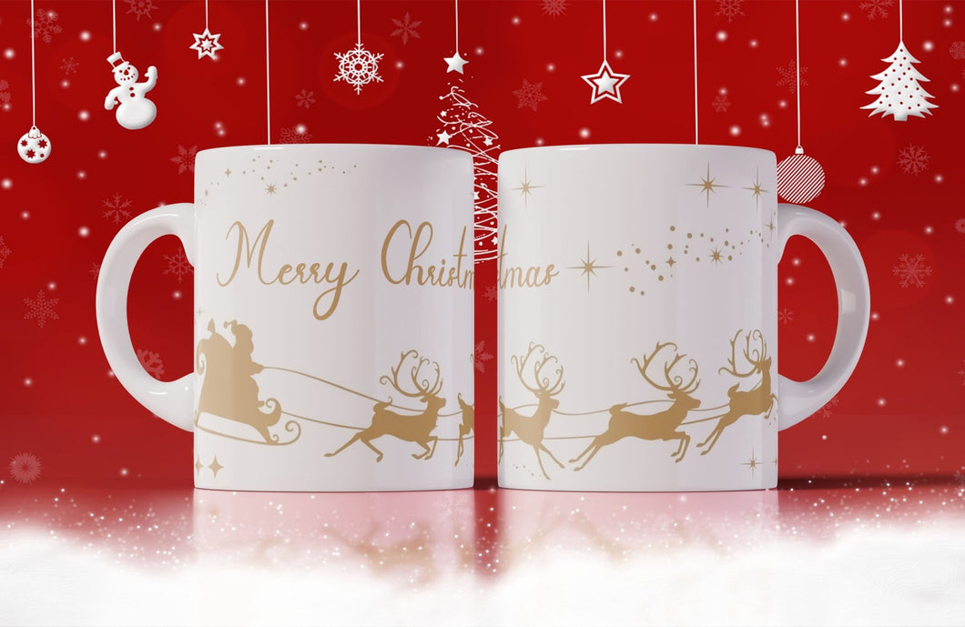 Sleigh Christmas Mug - Don't take it personal