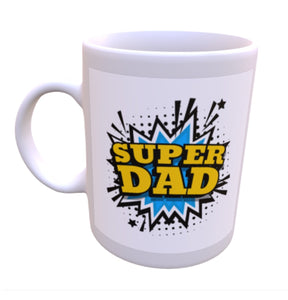 Super Dad Fathers Day mug - Don't take it personal