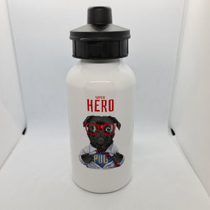 Super Pug Aluminium 600ml Water bottle - Don't take it personal