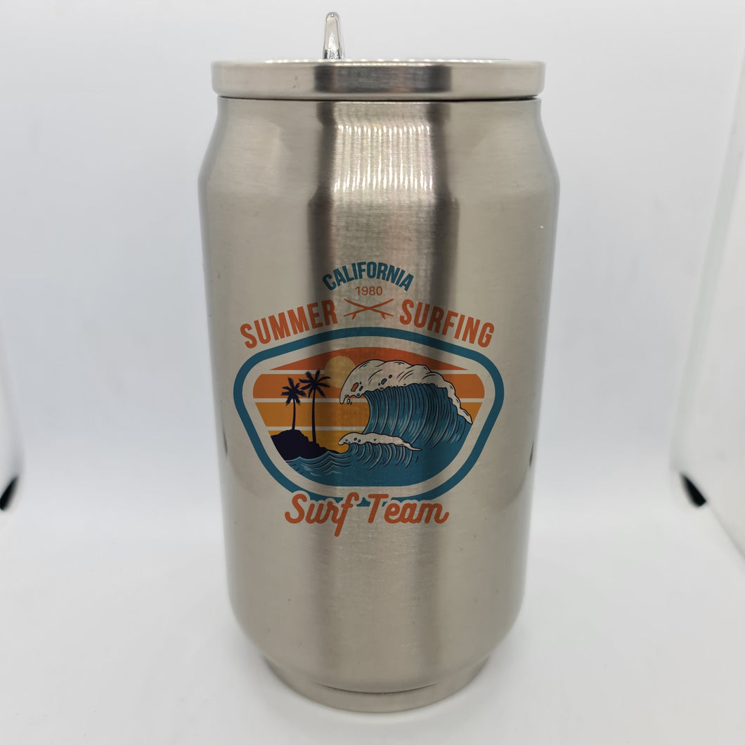 Surf team Double Wall Stainless Steel Can - Don't take it personal