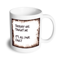 Load image into Gallery viewer, Therapy mug - Don't take it personal