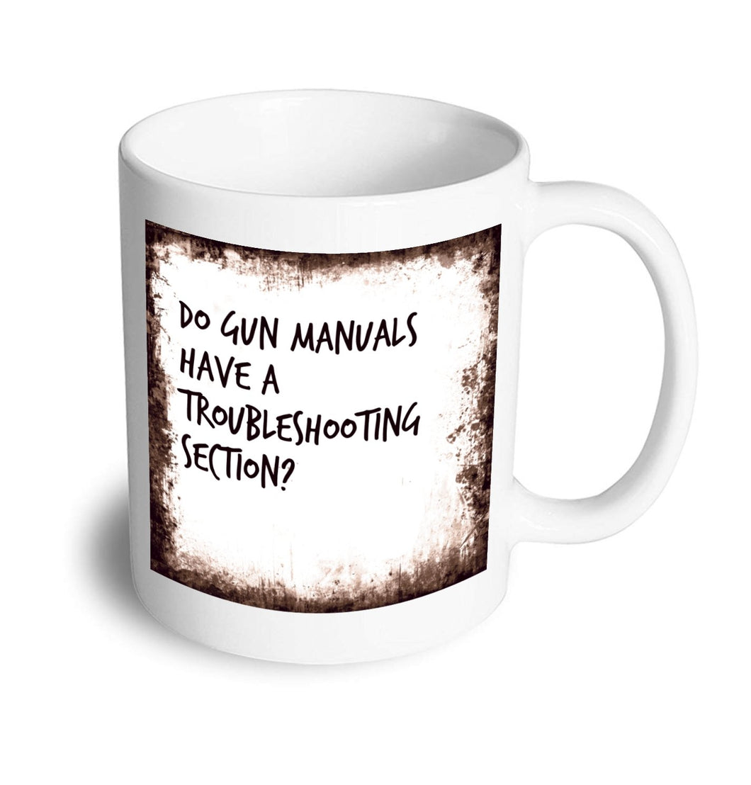 Troubleshooting mug - Don't take it personal