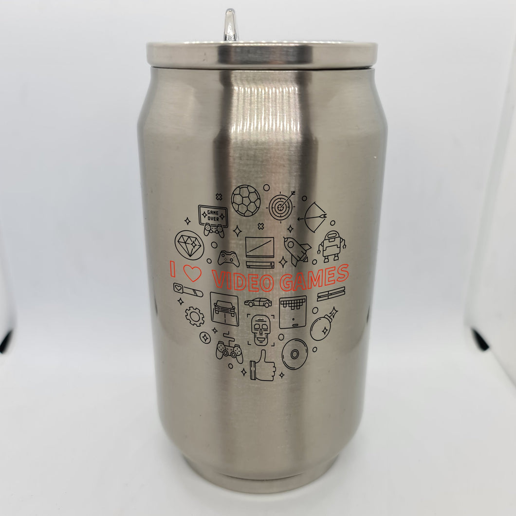 Video Games Double Wall Stainless Steel Can - Don't take it personal