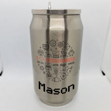 Load image into Gallery viewer, Video Games Double Wall Stainless Steel Can - Don't take it personal