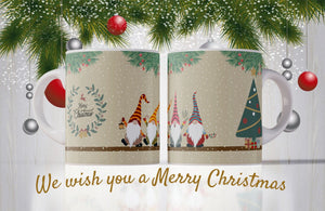 We wish you a merry Christmas Mug - Don't take it personal