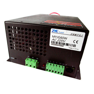 60w Replacement CO2 Laser Tube Power Supply