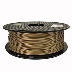 Metal Fill Filament 1kg 1.75mm Frosted Bronze