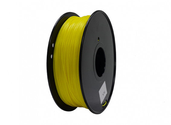ABS Filament 1kg 1.75mm Yellow - Gadgitech Trading
